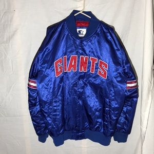 New York Giants Starter Jacket NFL Nylon Coat